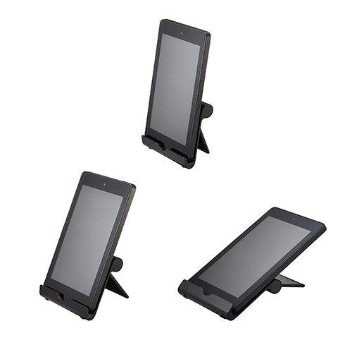 【Amazon認定】タブレット/スマホ スタンド 角度調整可能 NuPro メタル シルバー Kindle, iPad, iPad mini, iPhone, Nexus 7等