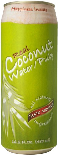 Taste Nirvana Real Coconut Water With Pulp 16.2oz