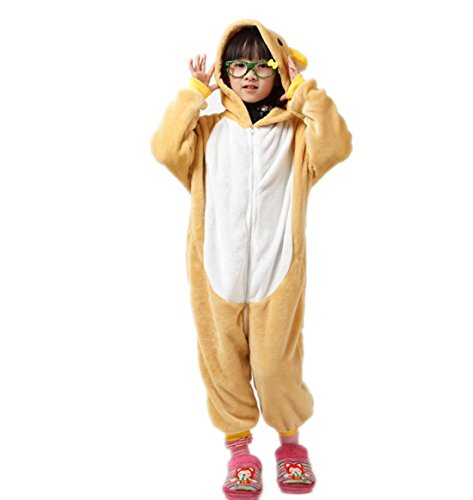 Autek Autek Children Kid Baby Animal Unisex Onesie Fancy Dress Costume Hoodies Pajamas Sleep Wear Little Bear