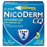 NicoDerm CQ Step 2 - 3 Week Kit - 21 Clear Nicotine Patches