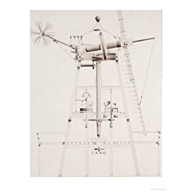Drawings for Windmills, Dated 1814-17 Giclee Poster Print by Jr, John Farey, 9x12