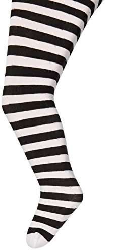 Big Girls Opaque Nylon Striped Tights Stylin' Upbeat (2 Pack) - 1