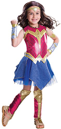 Rubie's Costume Batman vs Superman: Dawn of Justice Deluxe Wonder Woman Costume, Small