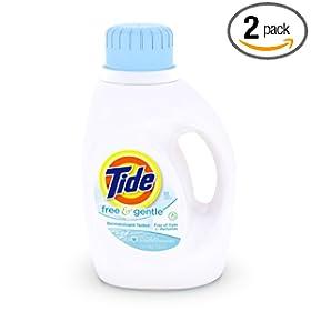 汰渍Tide柔软洗衣液2瓶装