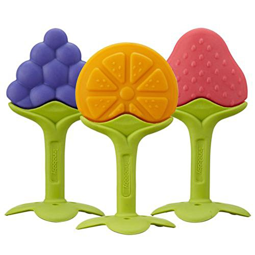 Innobaby EZ Grip Massaging Fruit Teether Set - 1