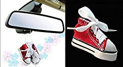 Delhitraderss -Hanging Shoe Car Air Freshener Car hanging perfume for - Maruti Suzuki Baleno Old