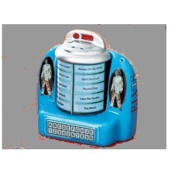 Elvis Jukebox Ceramic Salt & Pepper Shakers by Avon
