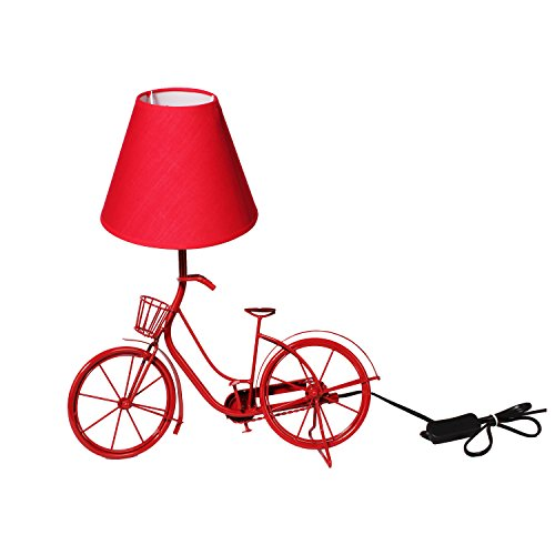 The Crazy Me Light It Up Vintage Cycle Lamp (Red)