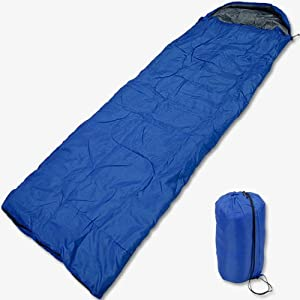 寝袋 シュラフ 封筒型 軽量・コンパクト スリーピングバッグ