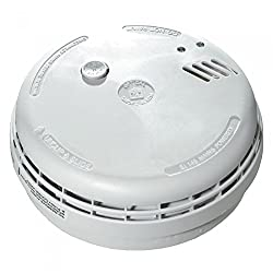 Set of 2 x Aico EI146 RC Mains Hard Wired Smoke Alarms with 9V Battery Back Up + FREE LED Wind up Torch by Aico