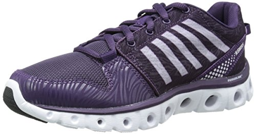 K-Swiss Women's X Lite CT CMF Training Shoe, Purple Pennant/Lavender Fog, 8.5 M US