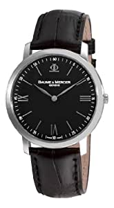 Baume Mercier Men's 8850 Classima Executives Ultra Thin Black Dial Watch