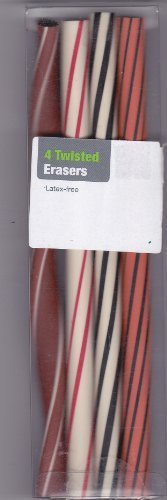 Twisted Erasers (Latex Free)