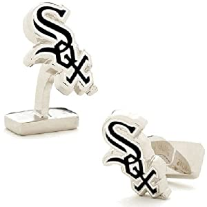 Chicago White Sox MLB Sterling Silver Logo