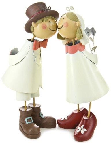 BIF 2226 Tortenfiguren, Knutschis Brautpaar natürlich