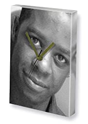 ADRIAN LESTER - Canvas Clock (A4 - Signed by the Artist) #js001