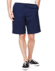 Blue Harbour Cotton Rich Shorts with Belt