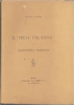 in Alessandro Manzoni: MANZONI - Giubbini Antonio: Amazon.com: Books