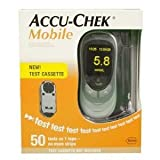 Accu-Chek Mobile Blood Glucose Meter 50 Tests In One Cassette