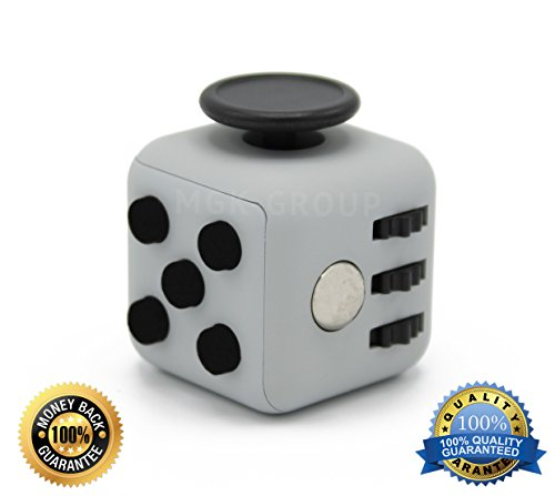 Gray Color Fidget Cube