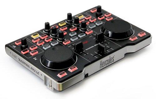 hercules-dj-control-mp3-le-controller-midi-usb-nero-argento