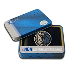Dallas Mavericks Embroidered Leather Bi-Fold Wallet by Rico