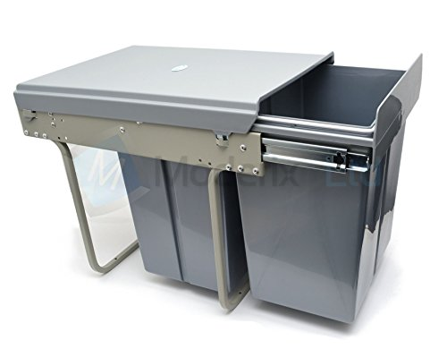 1home poubellet recyclable compatiment 8899862476342 cuisine maison syst mes de tri des. Black Bedroom Furniture Sets. Home Design Ideas