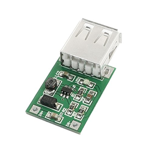 Green Dc-Dc Boost Module 0.9V To 5V 600Ma Usb Booster Circuit Board front-956593