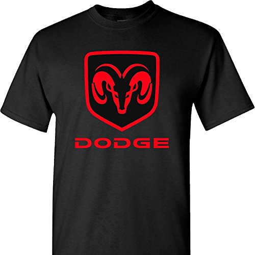Brand New- Dodge Ram Logo on a Black T Shirt