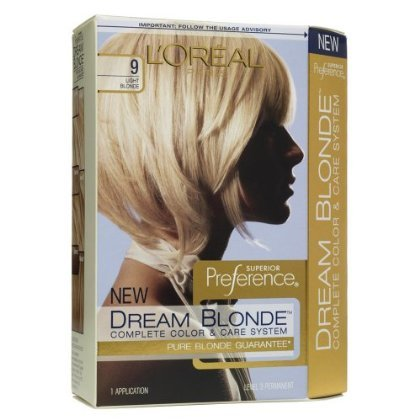 L'Oréal Dream Blondes Hair Color - Light Blonde 9