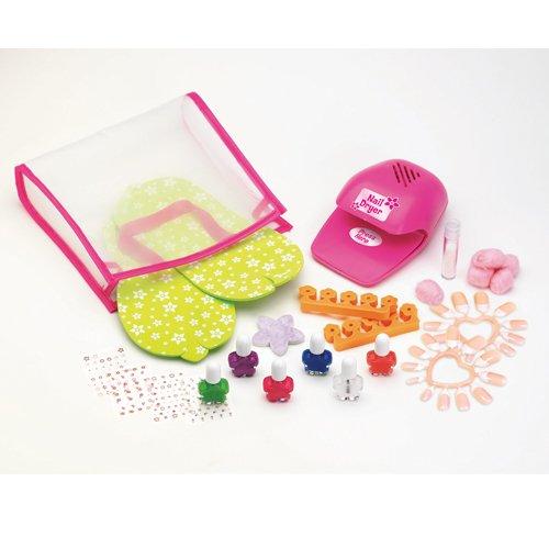 Barbie Ultimate Nail Dryer Set: Girls Ulitmate Nail Polish Set And Nail Art Kits! Girl's