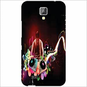 Gionee Pioneer P2S Back Cover - Silicon Music Designer Cases