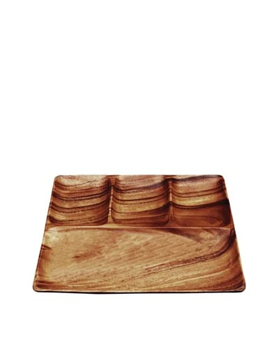 Pacific Merchants 4-Section Square Tray
