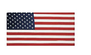 American Flag Cotton Beach Towel 30x60 Family 4 Pack