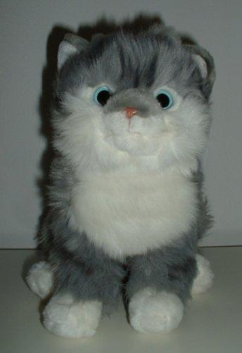 Plüschkatze - Katze Grey sitzend von Leosco