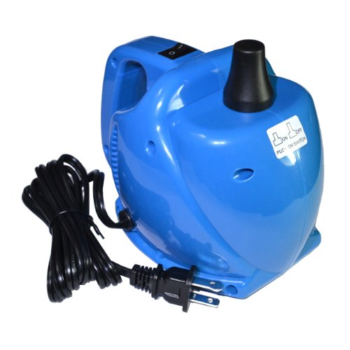 Samyo Portable Air Blower Electric Balloon Inflator Pump With Single Nozzle 15000Pa 700L/Min Air Volume