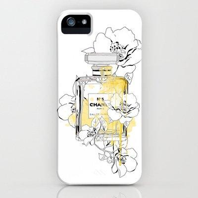 society6(ソサエティシックス) iPhone5/5sケースBlooming Love,inspiring by Chanel 並行輸入品