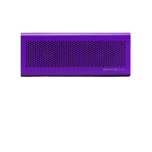 Incipio Braven 570 Portable Bluetooth Speaker/Speakerphone/Charger/Powerbank - Retail Packaging - Purple