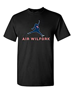 Air Wilfork New England Football Parody DT Adult T-Shirt Tee