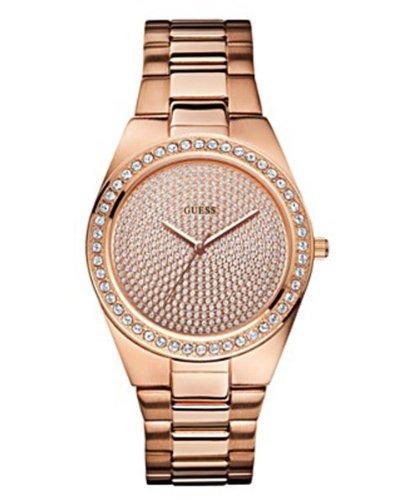 Guess U11663L1 GSSU11663L1 - Reloj para mujeres, correa de acero inoxidable color dorado