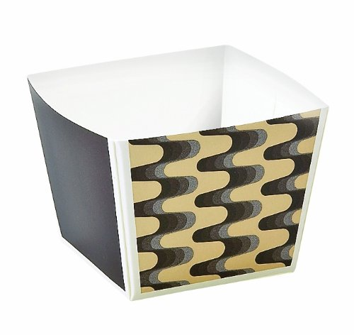 Welcome Home Brands Modern Baking Cube Wave 1.6-Inch Length by 1.6-Inch width by 1.6-Inch Height, One Case of 500 Units