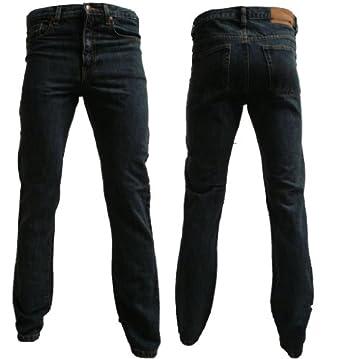 Super Basics Jean coupe slim basique pour homme -  Gris - Délavé - 30 W/32 L