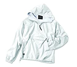 Charles River Apparel Women's Front Pocket Classic Pullover,Small,White