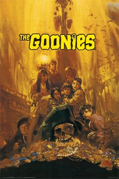 (24x36) Goonies Movie Group Poster Print 80s (Movie Posters compare prices)