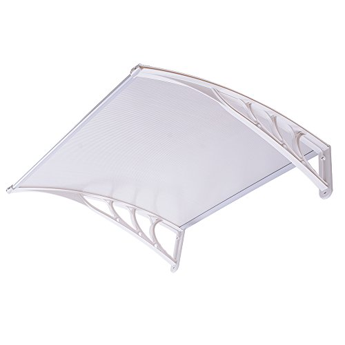 yescom-39x39-outdoor-clear-door-window-awning-canopy-hollow-polycarbonate-patio-cover-rain-snow-prot