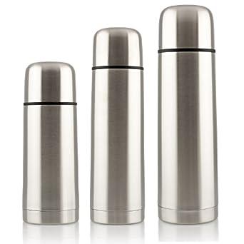 Hochwertige Isolierflasche Thermoskanne in verschiedenen Größen 750 ml Original Lumaland