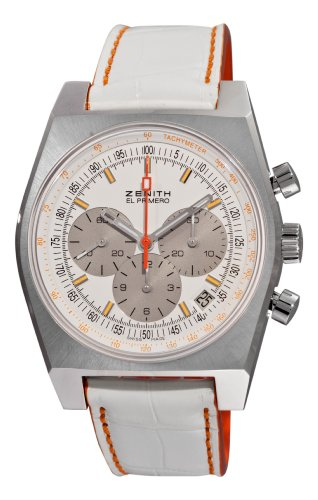 Zenith Women's 03.1969.401/02.C510 Vintage 1969 White Chronograph Dial Watch