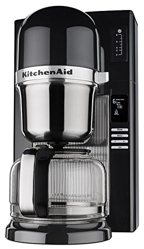 KitchenAid RKCM0802OB (CERTIFIED REFURBISHED) Pour Over Coffee Brewer, Onyx Black