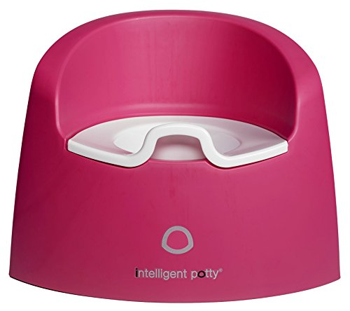 Intelligent Potty with Voice Recording for Potty Training Babies, Dark Pink - 1