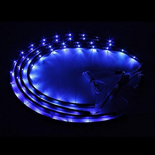 zhol 7 color led under car glow underbody system neon. Black Bedroom Furniture Sets. Home Design Ideas